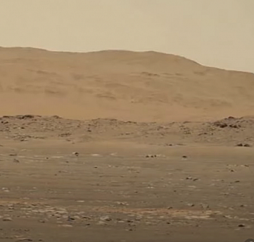 Mars'ta bir ilk: Mini helikopterin sesi kaydedildi