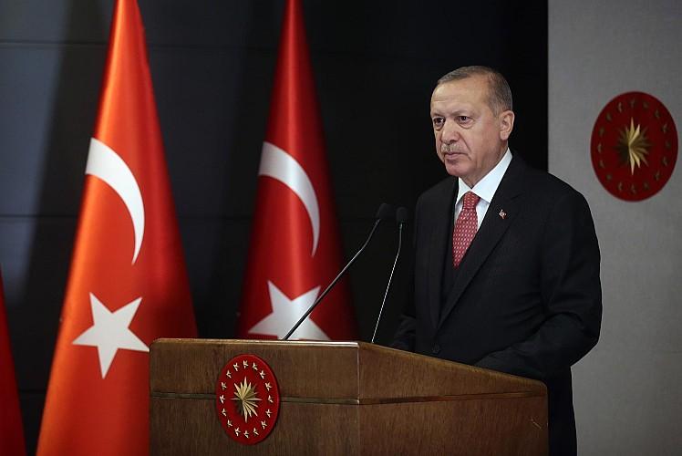 Erdoğan'dan net mesaj: Vazgeçmeyeceğiz