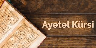 Ayetel Kürsi oku