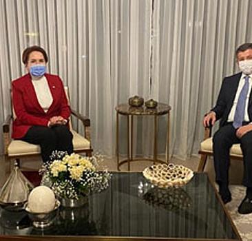 Akşener'den, Davutoğlu'na ziyaret