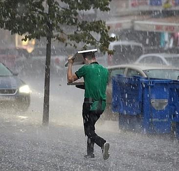 Meteoroloji'den kuvvetli sağanak uyarısı geldi