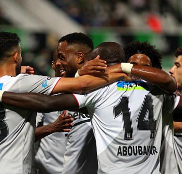 Bol gollü maçta gülen taraf Beşiktaş