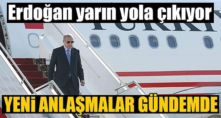 Erdoğan'ın Afrika ziyareti yarın başlıyor