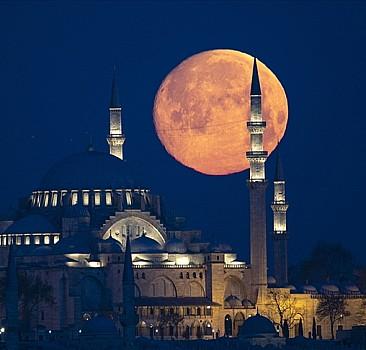 İstanbul'da muhteşem görüntü