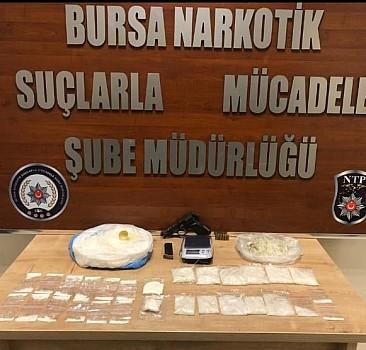 Bursa'da uyuşturucu operasyonu: 10  tutuklama