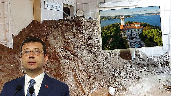 Hidiv Kasrı'nda büyük skandal: Yıkılabilir | Milat Gazetesi