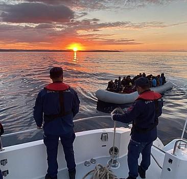 67 düzensiz göçmen kurtarıldı