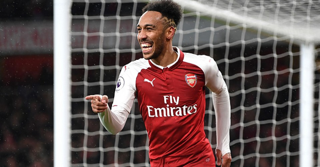 Aubameyang 2023'e kadar Arsenal'da!