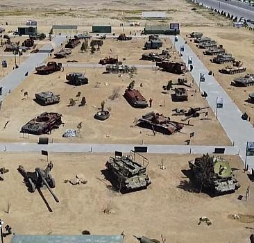 İskender füzesi de Savaş Ganimetleri Müzesi'nde