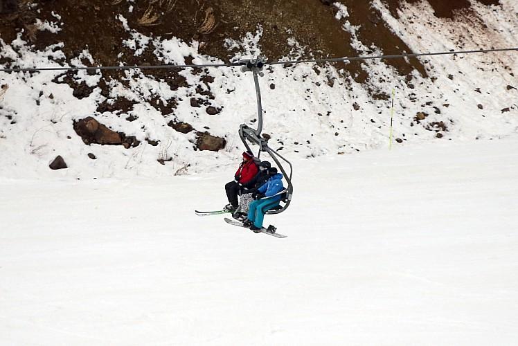 Kayakseverler Palandöken'i tercih ediyor