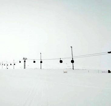 Erciyes'te kar kalınlığı 130 santimetre ölçüldü