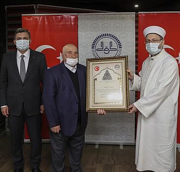 Ali Erbaş, kanaat önderleriyle buluştu