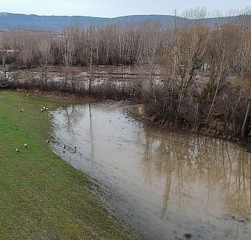 Kütahya'da tarım arazileri sular altında kaldı