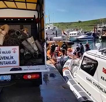 Deniz dibinden 757 ahtapot tuzağı çıkarıldı
