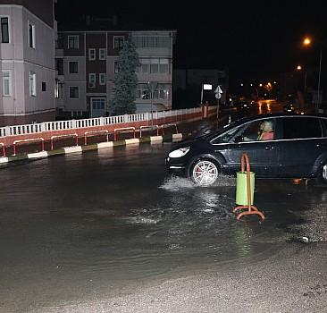 Bir su baskını haberi de o bölgeden geldi