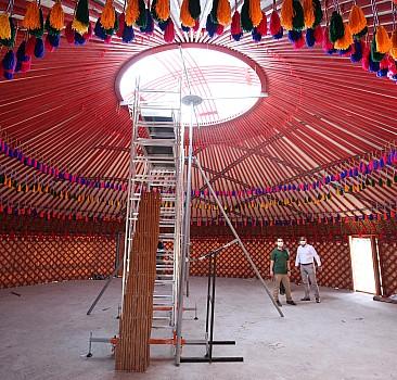 Sultan Alparslan Otağı çadırları kuruldu