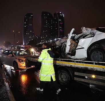 İstanbul'da feci kaza! 1 kişi öldü, 1 kişi yaralandı