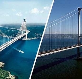 Köprü geçiş ücretlerine yüzde 14 zam!