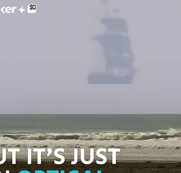 Uçan gemiler gördüğümüz bir illüzyon