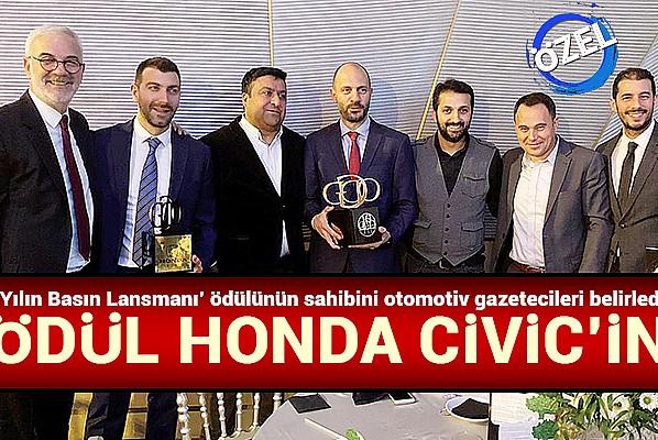 Ödül Honda Civic'in