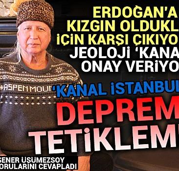 ''Jeoloji onay veriyor; ''Kanal İstanbul'' depremi tetiklemez''