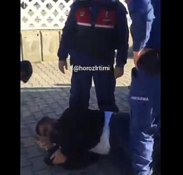 Jandarma yakalayınca ölü taklidi yaptı!