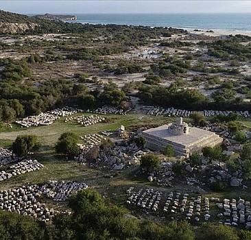 Patara''daki deniz feneri asırlar sonra yeniden ışık verecek