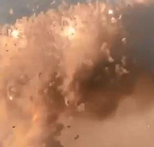 Havai fişek fabrikasında patlama ve sonrası