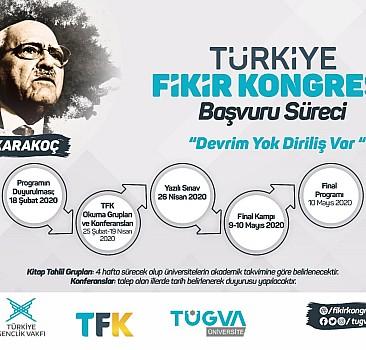 ''Türkiye Fikir Kongresi''ne başvurular başladı