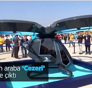 Türkiye''nin ilk yerli uçan aracı ''Cezeri''
