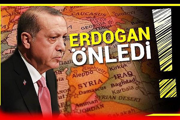 Türkiye karanlık planları bozdu!