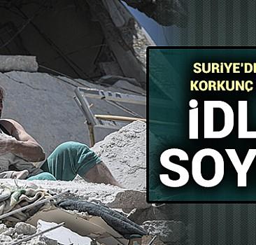 İdlib''de soykırım!