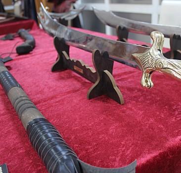 Osmanlı silahları sergisi açıldı