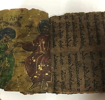 Diyarbakır''da 800 yıllık İbranice kitap ele geçirildi