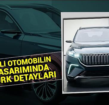 Yerli otomobilin tasarımında Türk detayları